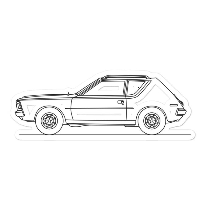 AMC Gremlin Sticker - Artlines Design