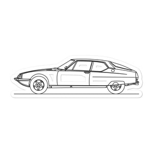 Citroën SM Sticker - Artlines Design