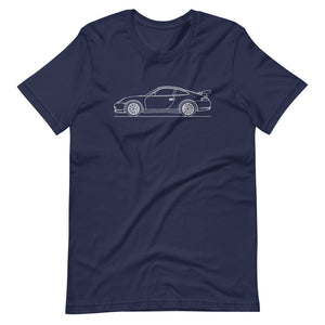 Porsche 911 996 GT3 RS T-shirt Navy - Artlines Design