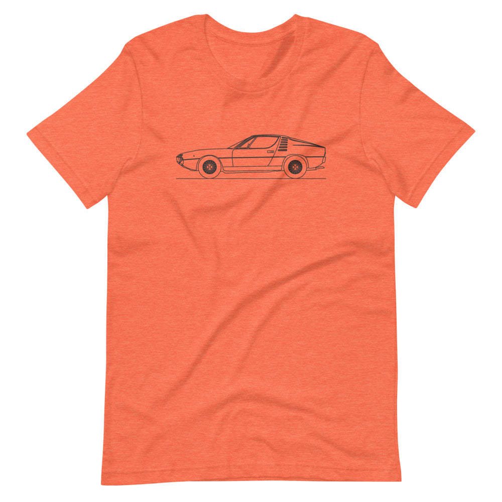 Alfa Romeo Montreal Heather Orange T-shirt - Artlines Design