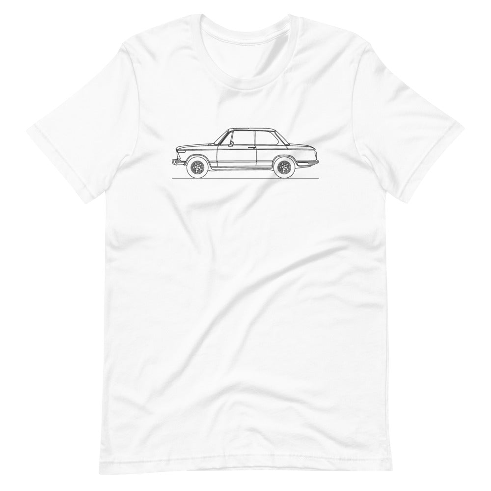 BMW 2002 T-shirt White - Artlines Design