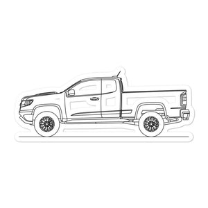 Chevrolet Colorado ZR2 Sticker