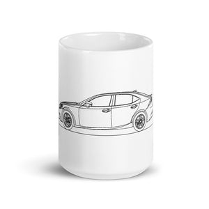 Lexus IS300h XE30 Mug