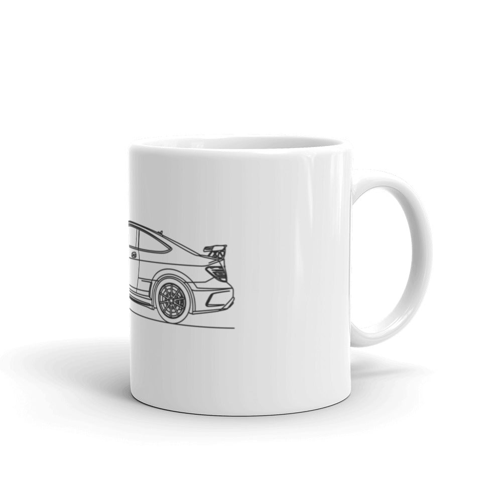 Mercedes-Benz W204 C 63 AMG Black Series Mug