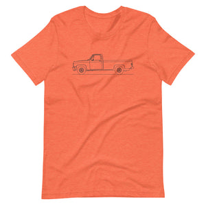 Chevrolet C/K 3rd Gen T-shirt Heather Orange - Artlines Design