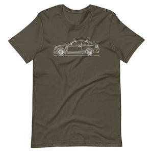 BMW E82 1M Coupe T-shirt Army - Artlines Design