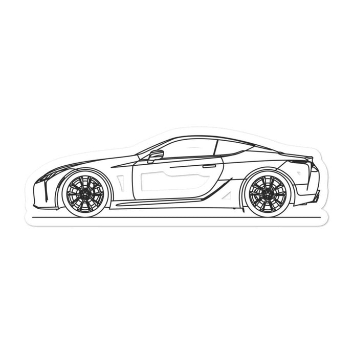 Lexus LC 500 Sticker - Artlines Design