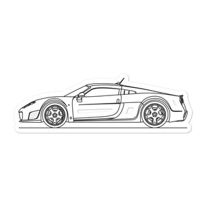Noble M600 Sticker - Artlines Design