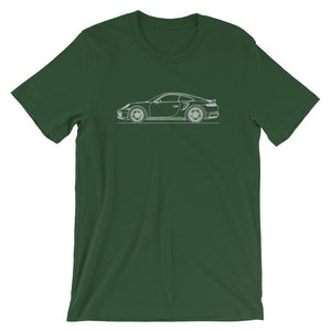 Porsche 911 992 Turbo S T-shirt