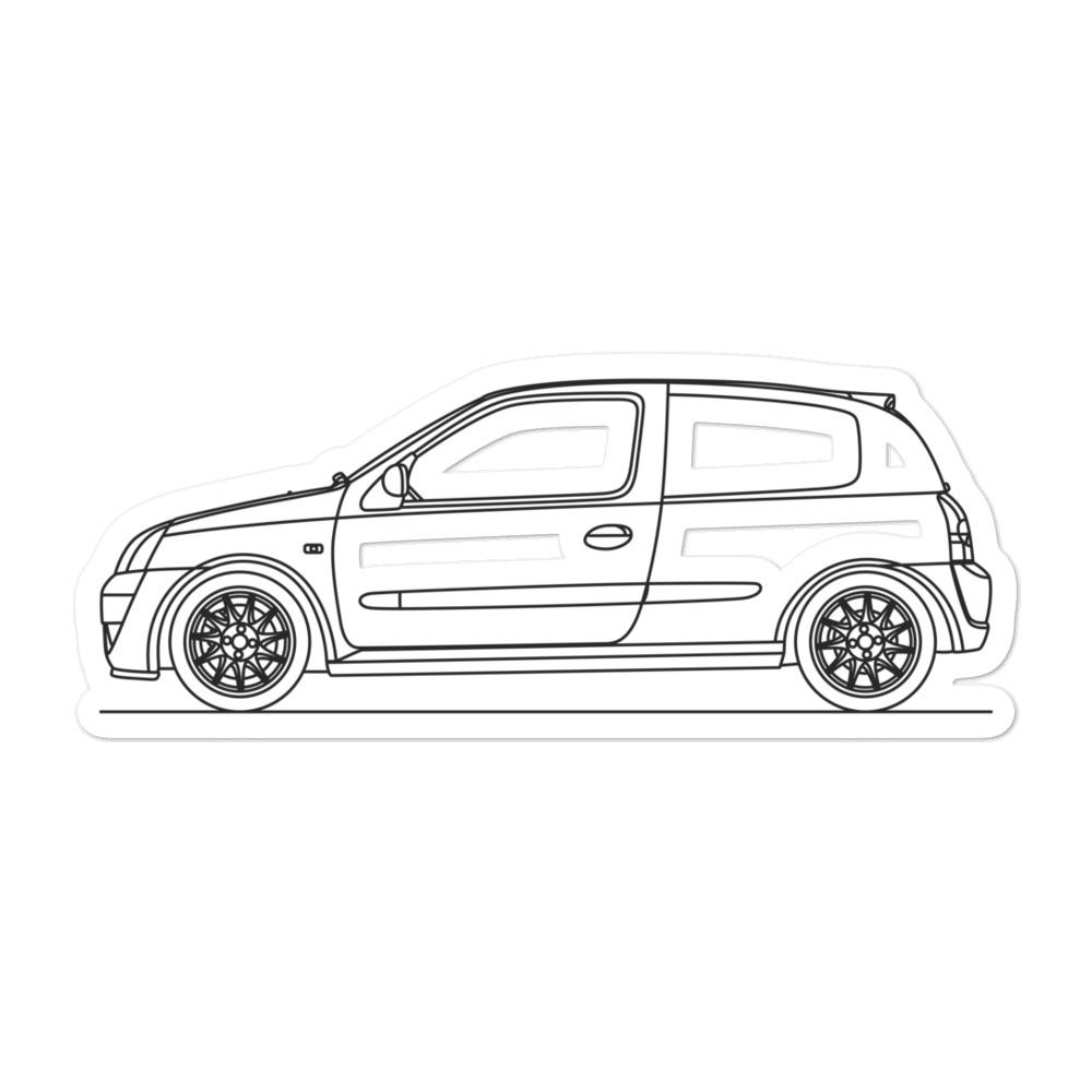 Renault Clio 172 Cup Sticker
