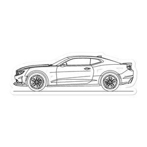 Chevrolet Camaro 6th Gen SS 1LE Sticker
