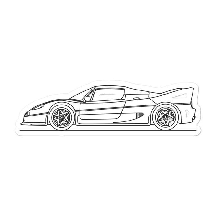 Ferrari F50 Sticker - Artlines Design