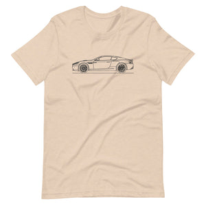 Aston Martin DB9 Heather Dust T-shirt - Artlines Design