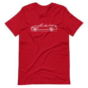 BMW F83 M4 T-shirt Red - Artlines Design