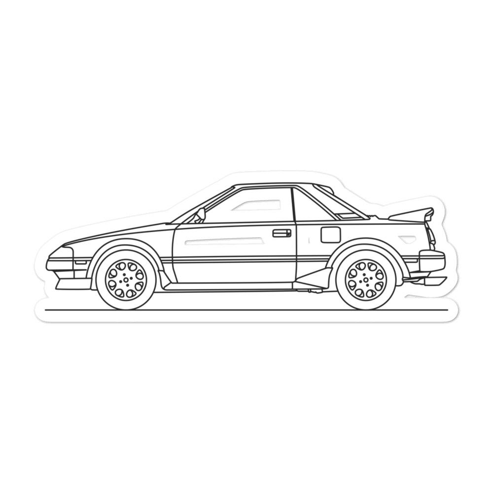 Toyota MR2 W10 Sticker