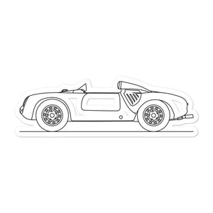Porsche 550 Spyder Sticker - Artlines Design