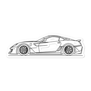 Ferrari 599XX Sticker - Artlines Design
