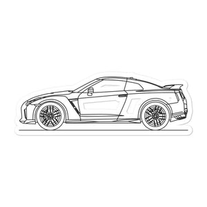 Nissan R35 GT-R Sticker - Artlines Design