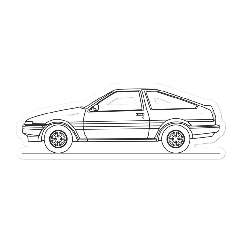 Toyota AE86 Sticker - Artlines Design