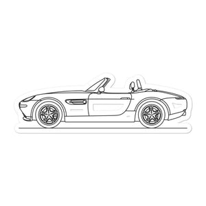 BMW E52 Z8 Sticker - Artlines Design