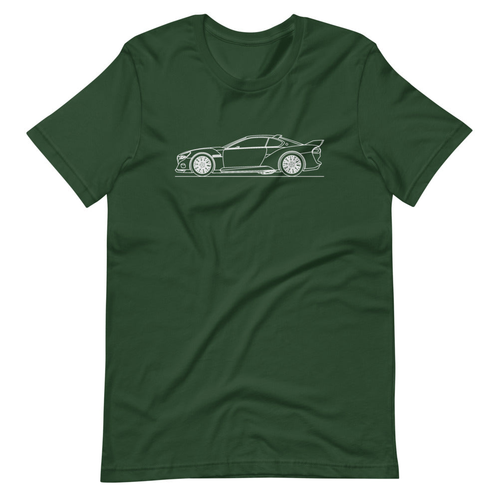 BMW 3.0 CSL Hommage R T-shirt Forest - Artlines Design