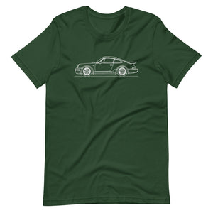 Porsche 911 964 Turbo T-shirt Forest