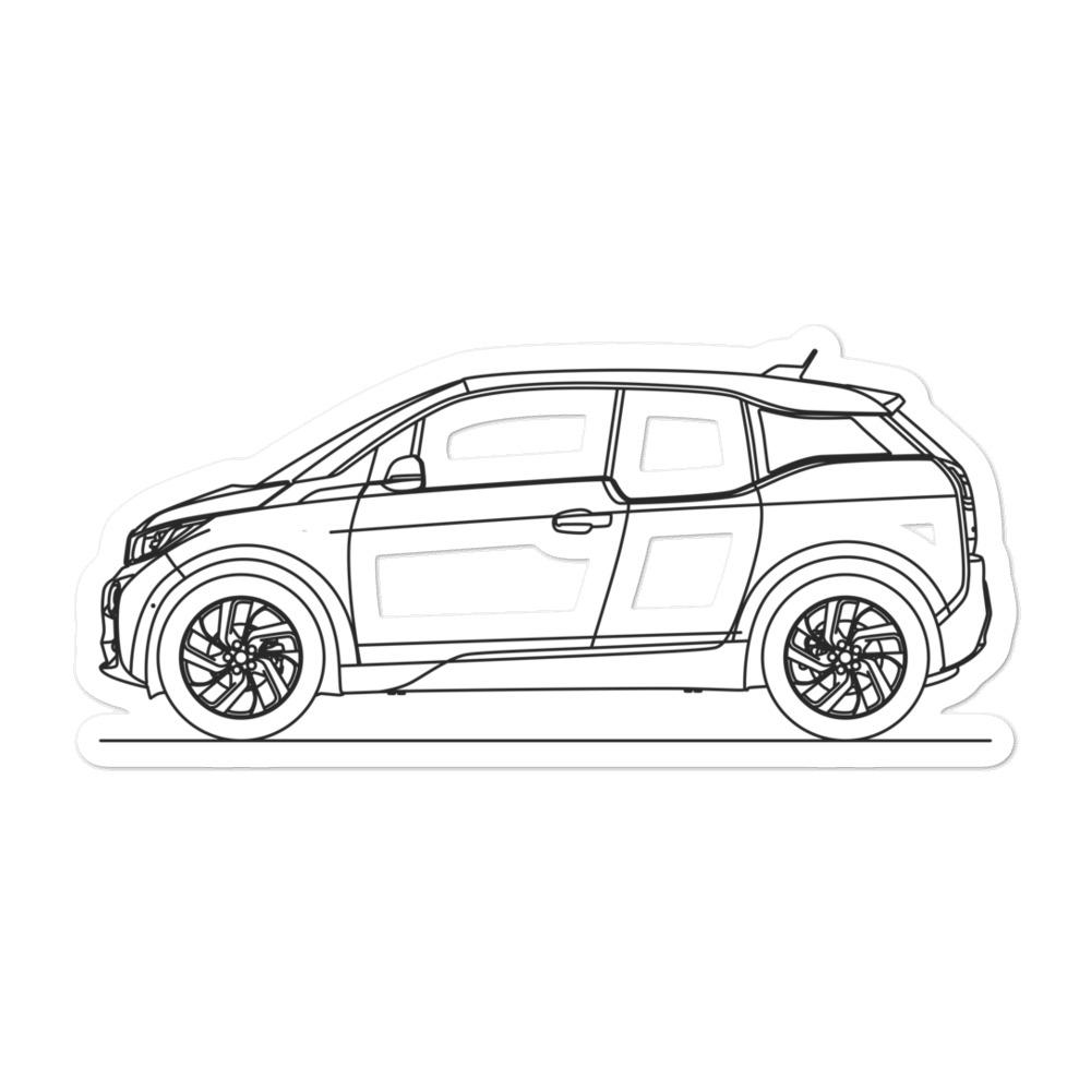 BMW i3 Sticker - Artlines Design