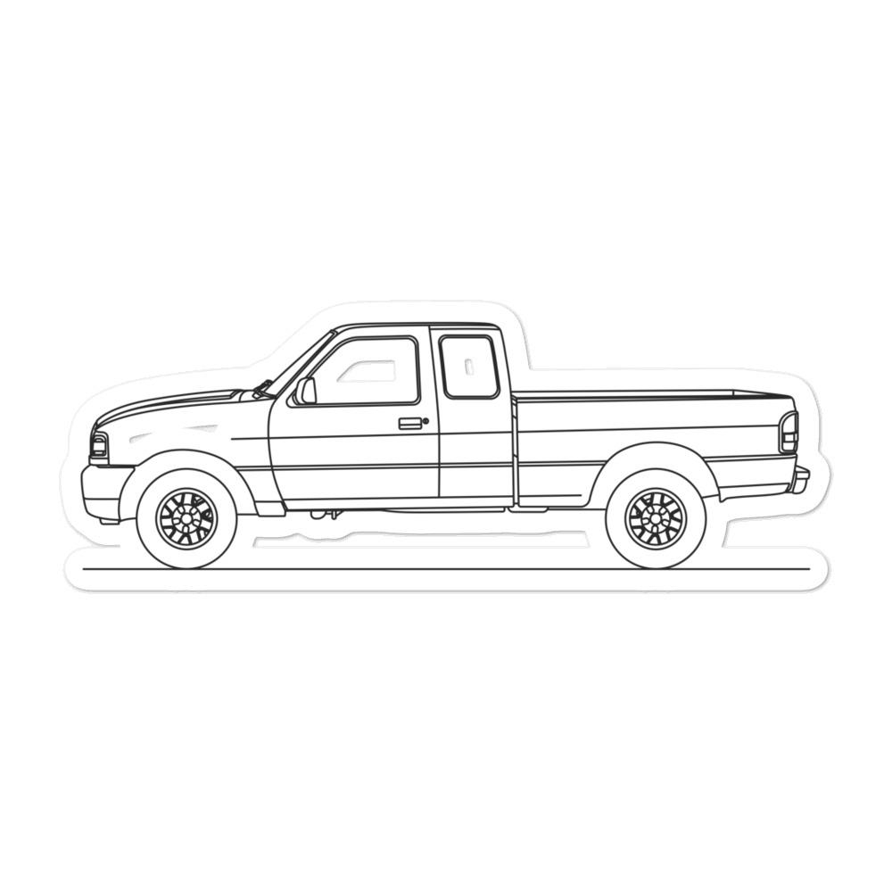 Ford Ranger III Sticker