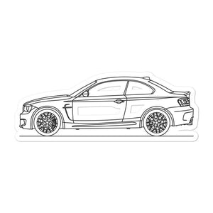 BMW E82 1M Sticker - Artlines Design