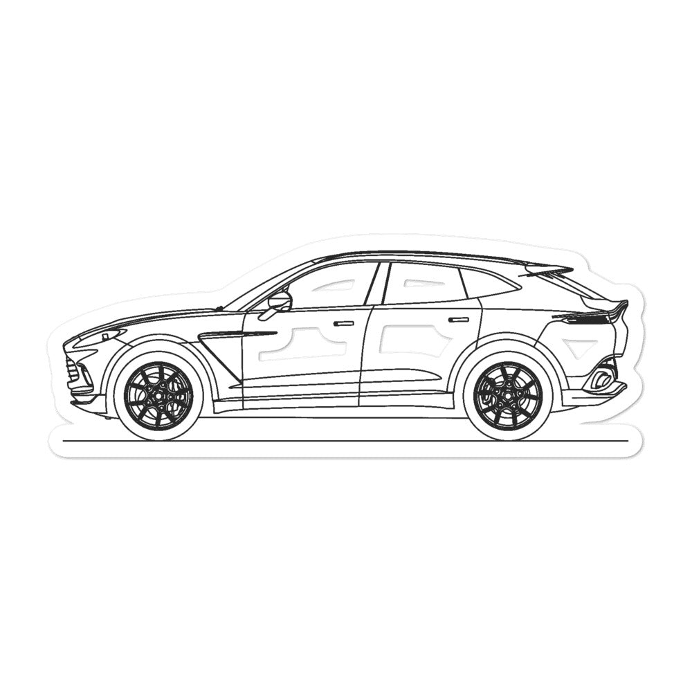 Aston Martin DBX Sticker