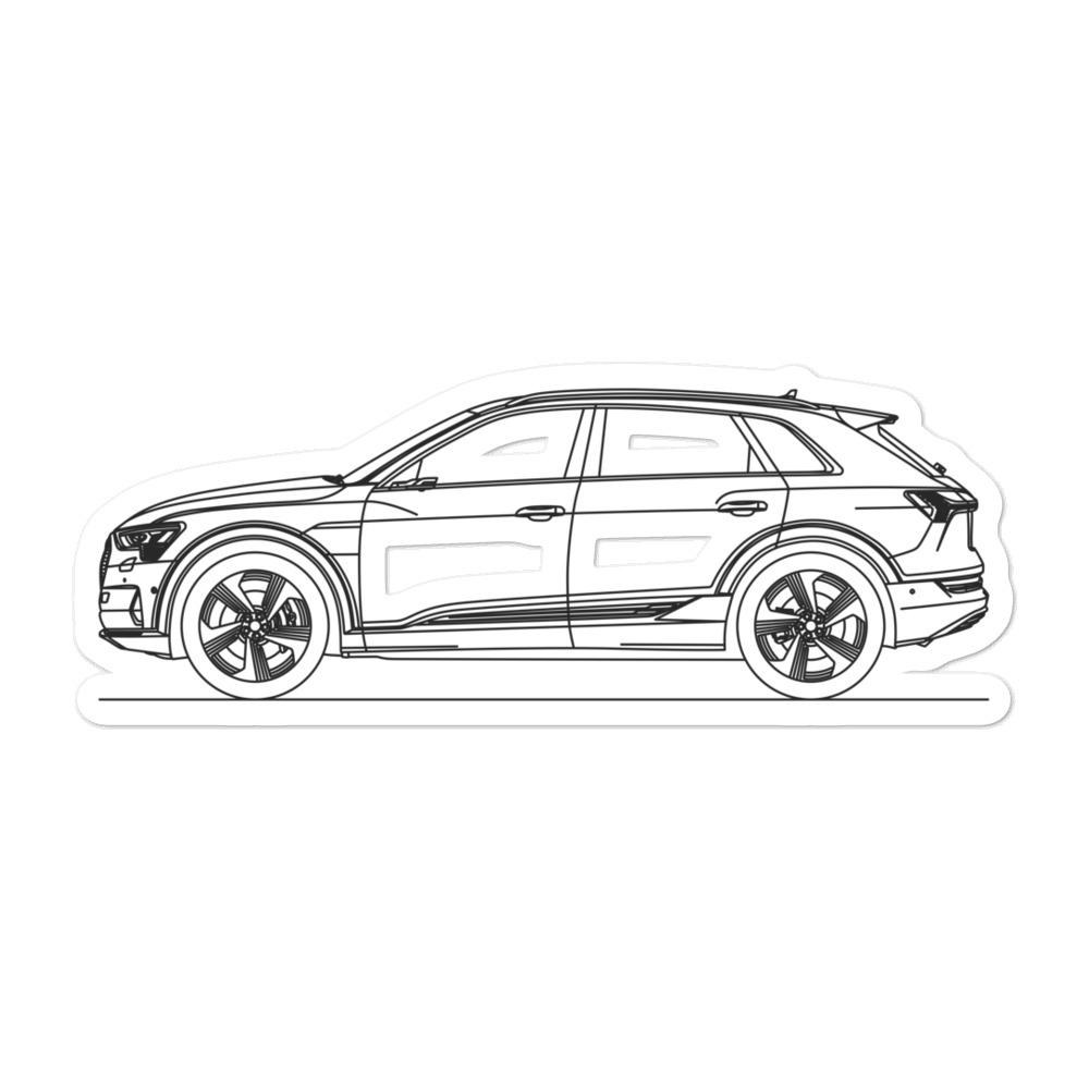 Audi e-tron Sticker - Artlines Design