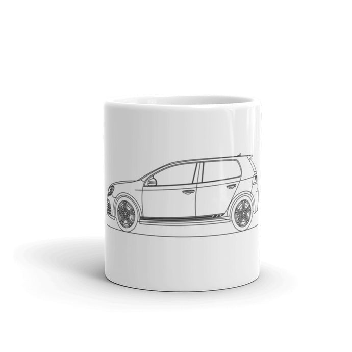 Volkswagen Golf VI R Stripes Mug