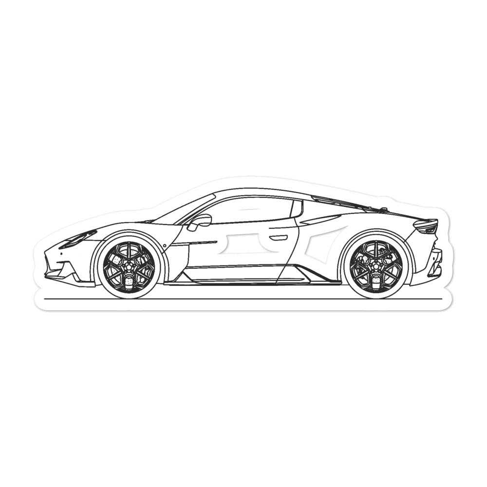 Maserati MC20 Sticker