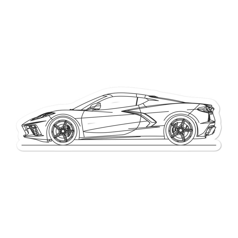 Chevrolet Corvette C8 Sticker