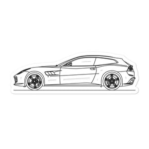 Ferrari GTC4Lusso Sticker - Artlines Design
