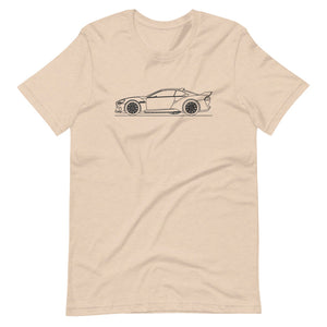 BMW 3.0 CSL Hommage R T-shirt Heather Dust - Artlines Design