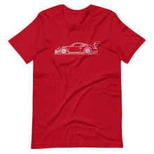 Load image into Gallery viewer, Porsche 911 997.2 GT3-R T-shirt Red - Artlines Design