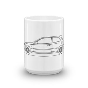Honda Civic Type R EK9 Mug