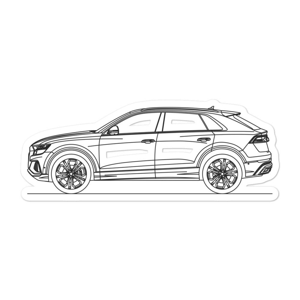 Audi 4M Q8 Sticker - Artlines Design