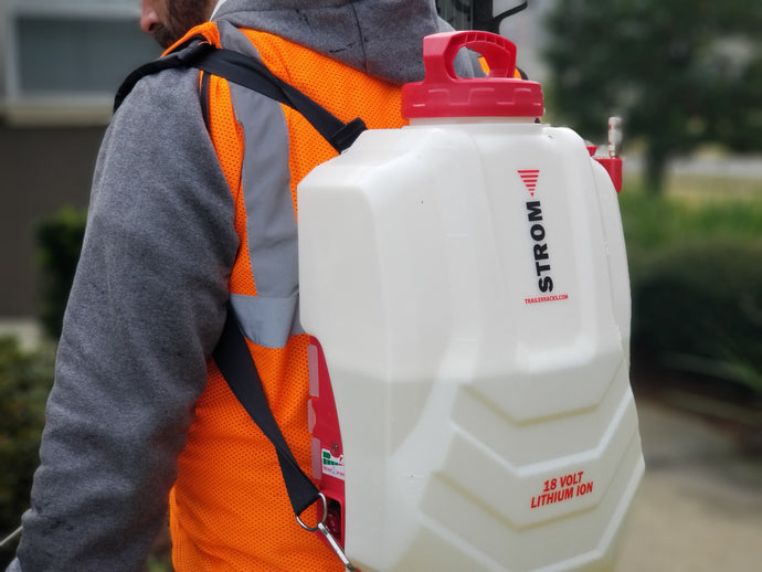 Our Strom Electric Sprayer is Lightweight and Affordable!