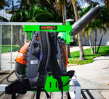 BPS100- Version 3.1  Xtreme Pro Series Backpack Blower Rack - TrailerRacks.com