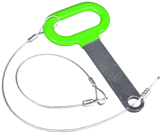 CC071-Replacement Pin and Lanyard Set for Classic Series Trimmer Racks - TrailerRacks.com