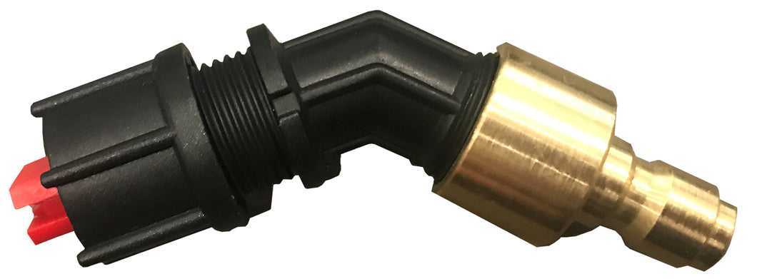 8001PW-Red Tip Pressure Washer Style Fan Tip for Strom Sprayer (Fits Pressure Washer Style Wand Only) - TrailerRacks.com