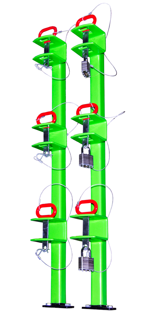 Lb012 Three Place Classic Series Trimmer Rack Open
