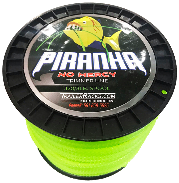 PTL100-Piranha No Mercy Sawtooth Trimmer Line .120/3lb. - TrailerRacks.com