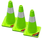 SC018-Pro Series 18 inch Safety Cones (3 Pack)