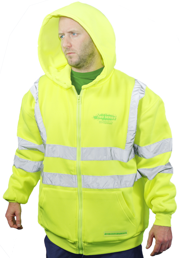 SWS100-Heavy-Duty Class 3 Safety Sweatshirt with Reflective Bands - TrailerRacks.com