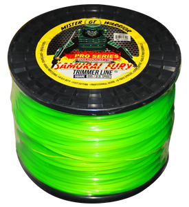 TL300-Samurai Fury Square Trimmer Line (3lb Spool/.095 Gauge)