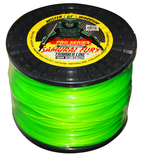 TL500-Samurai Fury Trimmer Line (5lb Spool/.095 Gauge) - TrailerRacks.com