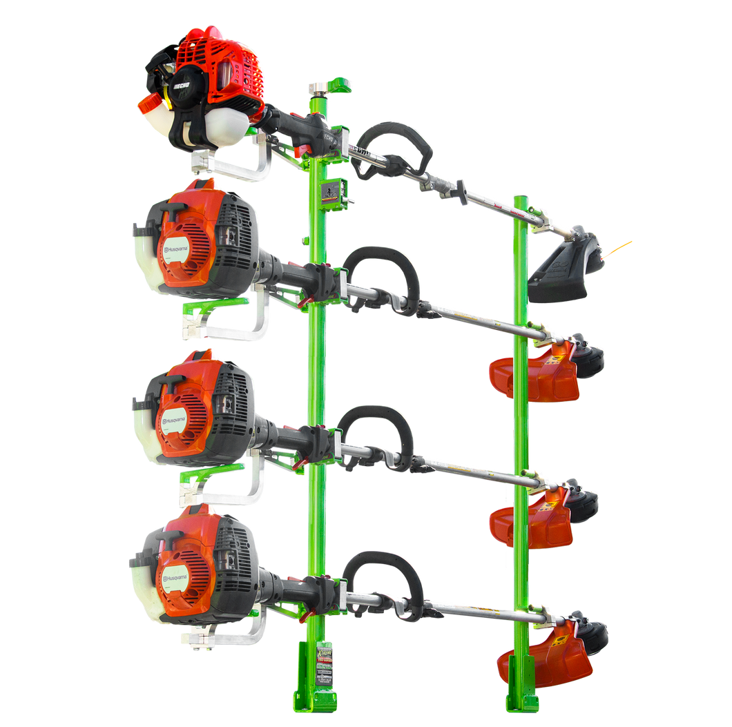 XC104 (Version 3)-XTREME PRO SERIES FOUR POSITION TRIMMER RACK - TrailerRacks.com